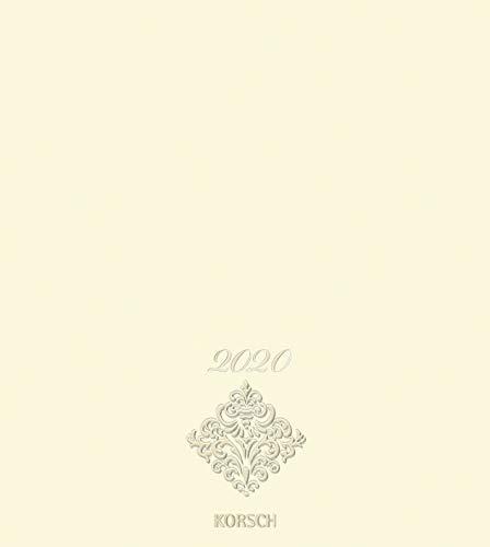 Foto-Malen-Basteln Bastelkalender Premium chamois 2020: Fotokalender zum Selbstgestalten. Do-it-yourself Kalender mit festem Fotokarton. Edle Folienprägung. Format: 21,5 x 24 cm