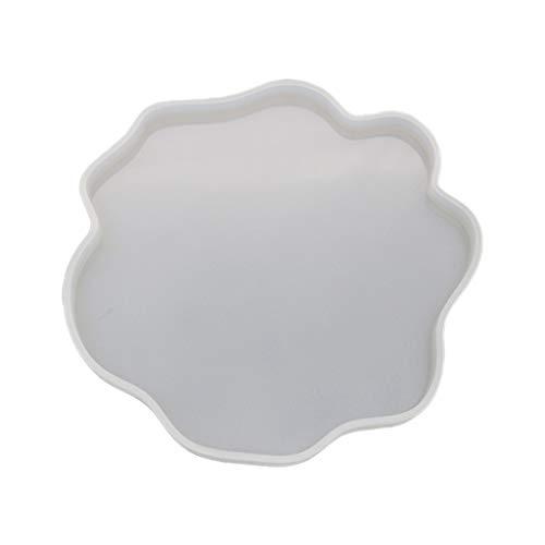 Sitonelectic unregelmäßige Untersetzer Form, Tassenmatte DIY Craft Spiegel UV Harz Kristall Epoxy Formen Large durchsichtig
