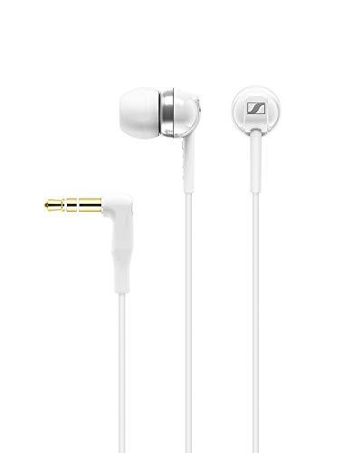 Sennheiser CX 1.00 - Auriculares in-Ear (reducción de Ruido), Blanco