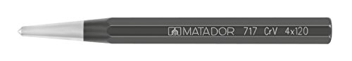 MATADOR Schraubwerkzeuge 0717 0040 Körner, 120 X 4 X 10 mm