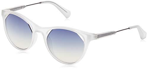Calvin Klein Jeans Sonnenbrille Ckj510S 0 Gafas de sol, Blanco (Weiß), 52.0 para Mujer