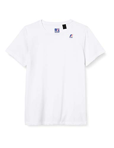K-Way LE Vrai Edouard T-Shirt, White, 14Y Unisex-Bambini