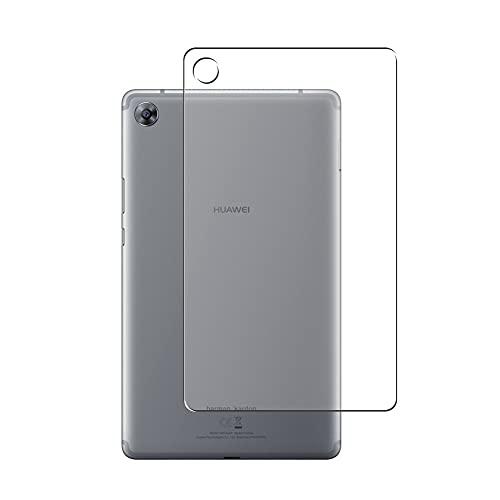 Vaxson 2 Stück Rückseite Schutzfolie, kompatibel mit Huawei MediaPad M5 8.4, Backcover Skin TPU Folie [nicht Panzerglas/nicht Front Bildschirmschutzfolie]