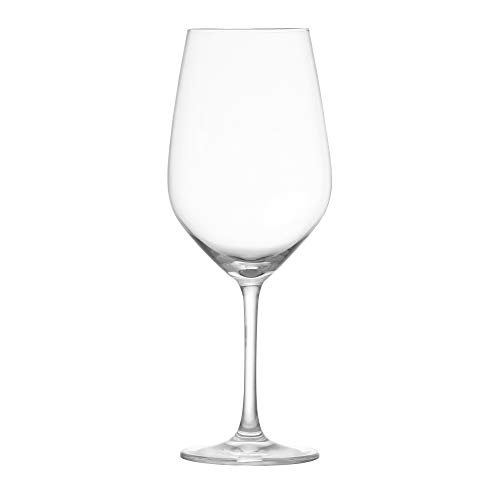 Schott Zwiesel Tritan Crystal Glass Forte Stemware Collection Wine/Water/Goblet Red or White Wine Glass, 17.3-Ounce, Set of 6
