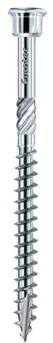 Eurotec Terrassotec; Edelstahl gehärtet; Terrassenschraube - Größe: 5.0 x 45 mm - Menge: 200 Stück