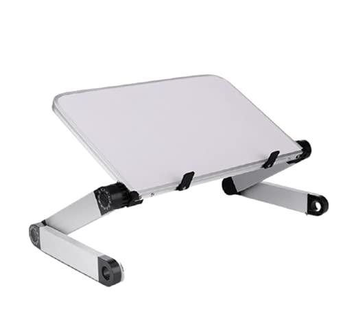 Soporte de Portátil Laptop Aluminio Plegable Ajustable para Todos Los Portátiles MacBook/Ordenadores Portátiles/Notebook/DELL/Lenovo,White,Standard Style