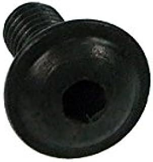 Skruv ISO 7380 M4 x 10 inbus glashuvud svart
