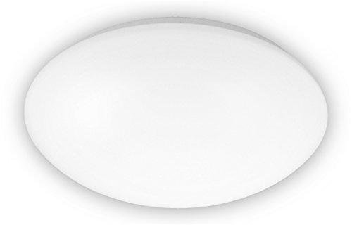 Niermann Standby Deckenleuchte, PMMA, E27, opal weiß, Durchmesser 29 cm