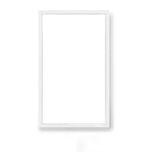 600x300mm -LED Panels- 24w, 3000k,4000k,6000k - Deckenleuchte-Bürobeleuchtung - nicht dimmbar - Weißer Rahmen - IP40 (Kaltweiß/4000k)