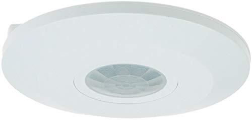 """Lámpara de techo-sensor de movimiento """"CBM-flat"""" 360° 230 V, 1-2000W, 6 M, LED adecuado, colour blanco"""