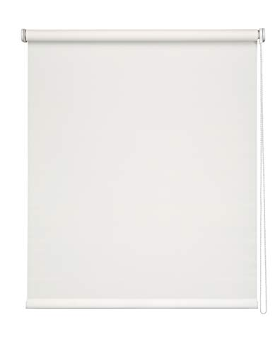 Easydeco - Estor Enrollable Screen (Blanco, 135_x_250_cm)