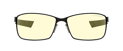 Gaming Glasses | Blue Light Blocking Glasses | Vayper/Onyx by Gunnar  | 65% Blue Light Protection, 100% UV Light, Anti-Reflective To Protect & Reduce Eye Strain & Dryness