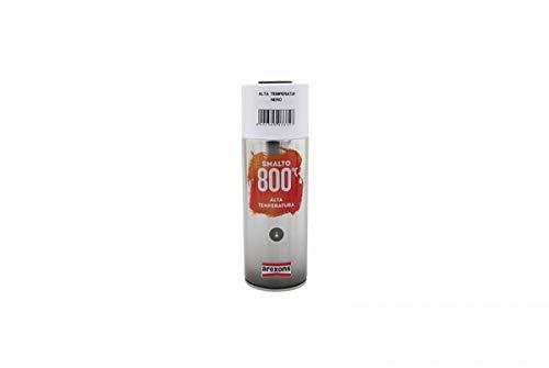 Arexons RXS065 3332 Smalto Acrilico Alta Temperatura, Nero, 400 ml