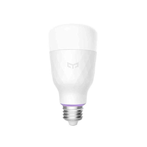 YEELIGHT Smart YLDP06YL-Bombilla LED (E27, Color), 11 W, 800 lm,...