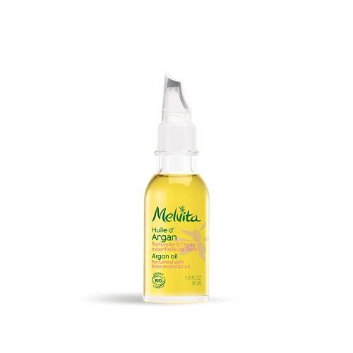 Melvita Huile d'Argan Parfumée à l'Huile Essentielle de Rose Bio 50 ml