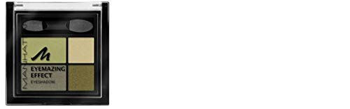 Manhattan Eyemazing Effect Eyeshadow – Schmink-Palette aus vier schimmernden Lidschatten-Farben für Smokey Eyes – Farbe Green Piece 89D – 1 x 5g