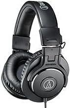 Audio-Technica ATH-M30X - Auriculares de diadema cerrados (3.5 mm), color negro