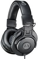 Audio-Technica ATH-M30X - Auriculares de diadema cerrados (3.5 mm), color negro