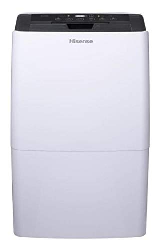 Hisense 70 Pint Dehumidifier DH-7019KP1WG with A Built in Pump and Includes Hose Attachment Energy Star Rated Great for Basements and Quiet Operation