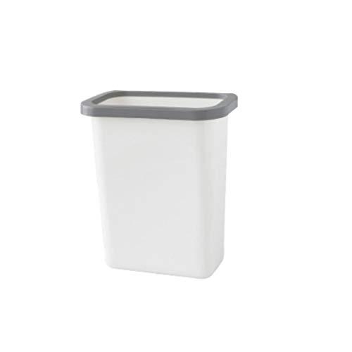 Aveo Mülleimer Küche hängender Abfalleimer kann Countertop-Kabinett-Tür-hängender Wand-hängender großer Schreibtisch Haupt Abfallsammler