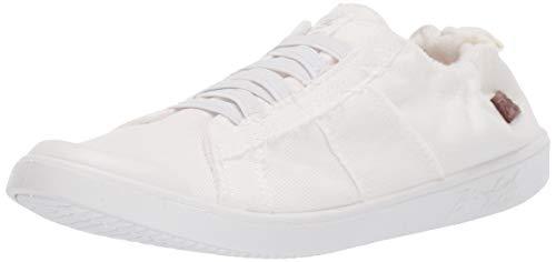 Blowfish Malibu Women's Vex Sneaker, White Smoked Canvas, 9 M US
