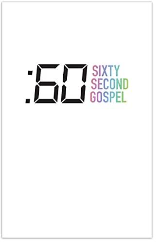 Sixty Second Gospel (NEW FORMAT! Folded Gospel Tract, Packet of 100, NKJV)