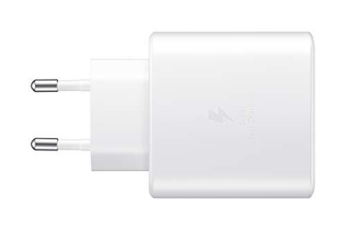 SAMSUNG Ep-TA845 - Caricabatterie rapido, 45 W, Colore: Bianco
