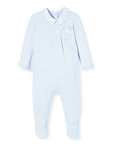 Chicco Tutina Bimbo con Apertura Sul Patello Mono Corto, Turquesa (Azu 021), 58 (Talla del Fabricante: 062) para Bebés