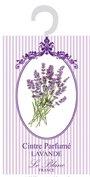 Le Blanc Duftsachet-Aufhänger für den Kleiderschrank, 11 x 17.5 cm, Duft Lavendel, 1er Pack (1 x 8 g)