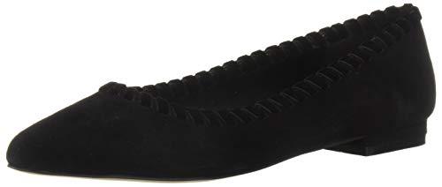 Athena Alexander Women's Lemans Sneaker, Black Suede, 7 M US