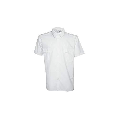 Chemise & chemisette pilote blanche CityGuard - Blanc - 43/44