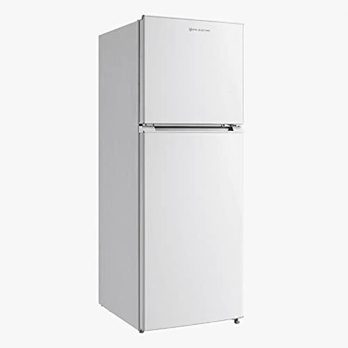 EAS ELECTRIC SMART TECHNOLOGY | EMF155NF1 | Frigorífico dos puertas | Color Blanco | 153x55 cm F/A+ | cajón verdulero | Iluminación LED interior | Refrigerador 166 litros Congelador 54 litros