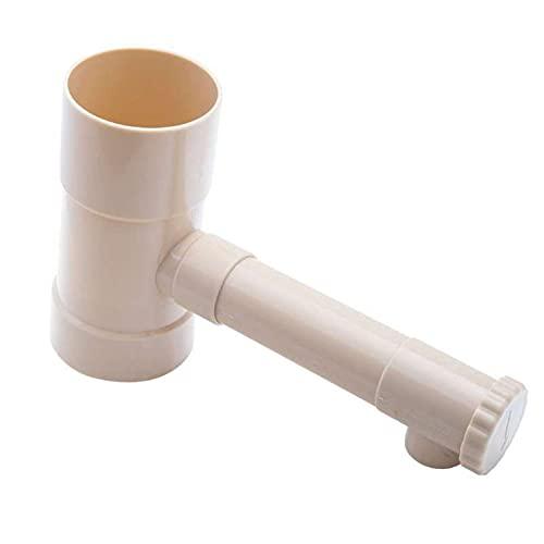 WERKA PRO - Collecteur récupérateur d'eau de Pluie ø 80mm, Couleur Sable