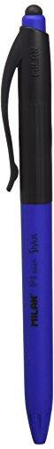 Milan P1 Touch Stylus - Blíster con 2 recambios, color azul