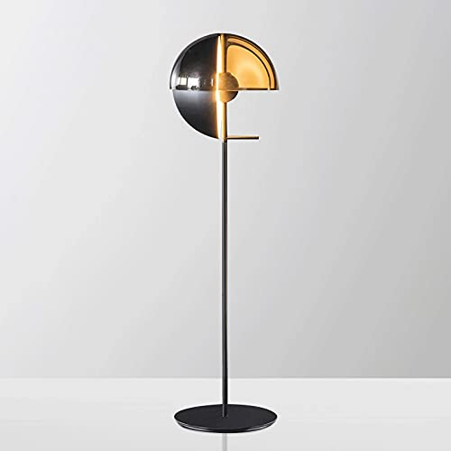 FEIYIYANG Lámpara de Pie 61'Lámpara de pie LED de Metal, contemporánea, transición para Dormitorio, Sala de Estar Lámpara de Pie Salon