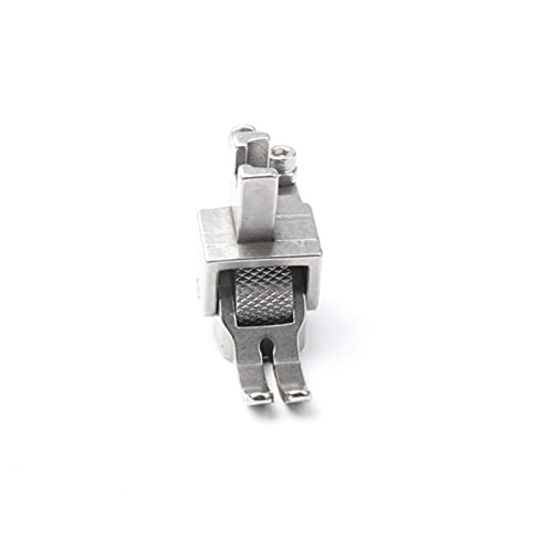 Miinasy Roller Foot Replacement Sewing Machine Presser Foot, Prensatelas para Dobladillo Enrollado, Prensatelas Universal para Máquina de Coser, Coser Fácilmente Cuero y Otras Telas Gruesas