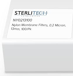 NY0213100 - Sterlitech New mail order 13mm 0.2 Nylon Membrane Filters Micron Max 69% OFF