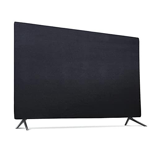 Funda compatible para TV de 55 pulgadas, cubierta antipolvo para TV OLED de 55 pulgadas, 55 pulgadas cubierta de TV (negro)compatible con Sony A80J 55 pulgadas y Sony A90J TV de 55 pulgadas,