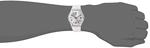 Swatch Femme Digital Quartz Montre avec Bracelet en Silicone GM416C