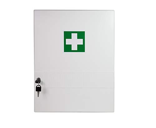 Verbandschrank mit Verbandmaterial Erste Hilfe Kasten Medizinschrank Verbandschrank mit Füllung DIN 13157 abschließbar 620280