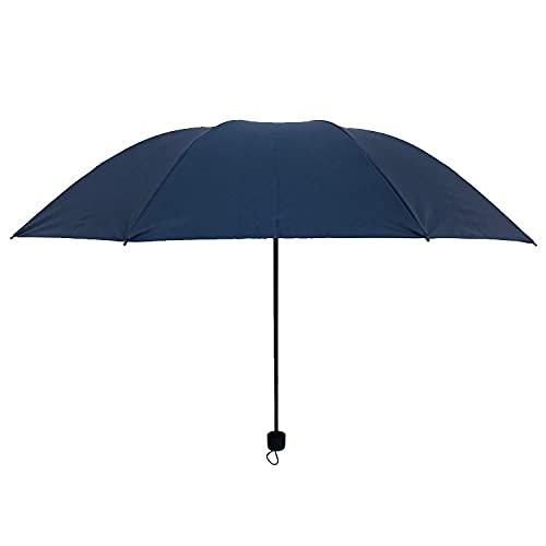 Dreifache Black Gummi Outdoor Sunshade Regenschirm Werbung Regenschirm Geschenk Regenschirm Sonnencreme Falten