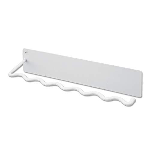 White Magnetic Paper Towel Holder for Refrigerator, Hand Towel Holder for Kitchen