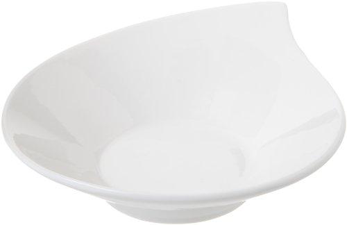 Tognana 14 x 12 x 4,5 cm-Mini Party Bol en Porcelaine Blanc cassé