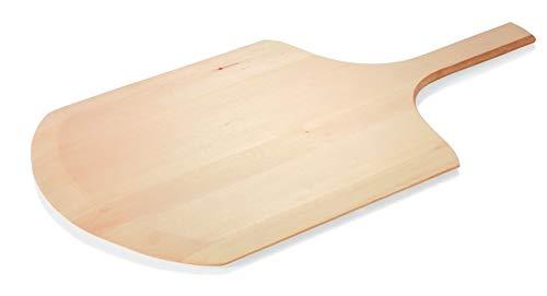 Gastro Spirit 2-er Set Flammkuchenbrett aus Holz Pizzaschaufel Pizzaschieber Gesamtlänge inkl. Stiel 66 cm, Größe XL, in 3 Größen erhältlich