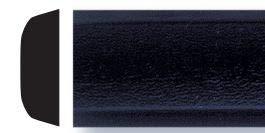 Trim-Gard 3/4' All Black Body Side Molding (16 Feet)