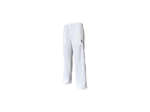 Kookaburra Pro Players Junior Trousers, White, 10 Years