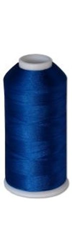 Find Discount 12-cone Commercial Polyester Embroidery Thread Kit - Royal Blue P618 - 5500 yards - 40...