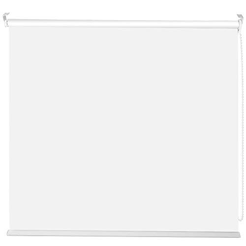 """Store de fenêtre Facile à Installer, Stores à Rouleau de fenêtre, Isolation Thermique Jour et Nuit avec Protection UV de 72""""pour la Maison(White)"""