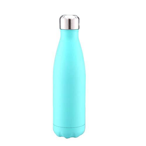 Skisneostype Isolato Acciaio Inox Acqua Sports Bottiglia Vuoto Flask Caldo e Freddo per Ore 100% Impermeabile & Senza Bisfenolo a a Prova di Perdita Sport Campeggio Escursionismo Viaggi - H7