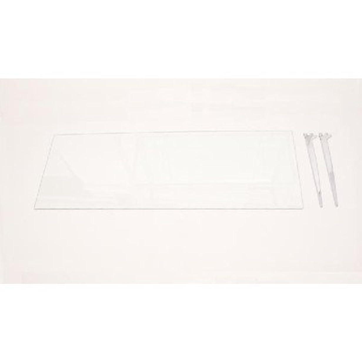 演じる動くなしでTOPCREATE ガラス棚板セット(TOP-1511SG用) TOP-PT60